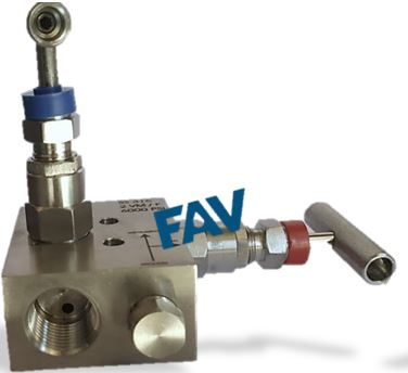 2 Way Manifold Valve , R Type,For Remote Mounting