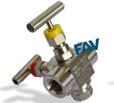 2 Way Manifold Valves ,R Type,For Remote Mounting
