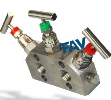 3 Way Manifold Valve ,Coplanar Type (2)