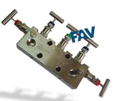 5 Way Manifold Valve ,Coplanar Type