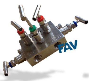 5 Way Manifold Valves , R Type ,, For Remote Mounting