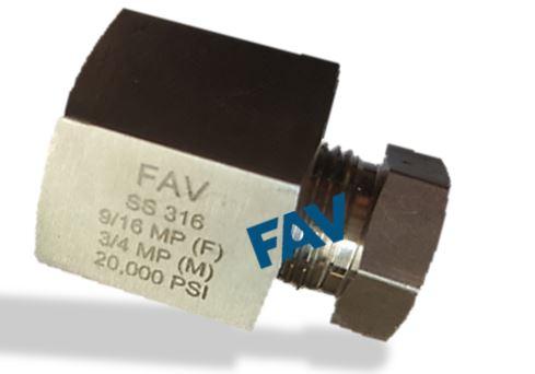 Adapter HP Female X Type M