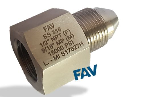Adapter NPT F X MP Male