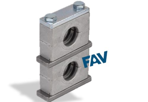 Aluminium Double Layer Tube Clamp