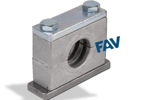 Aluminium Single Layer Tube Clamp