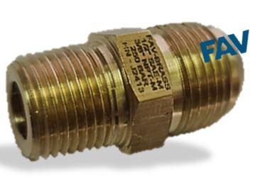 Brass Adaptor NPT X JIC