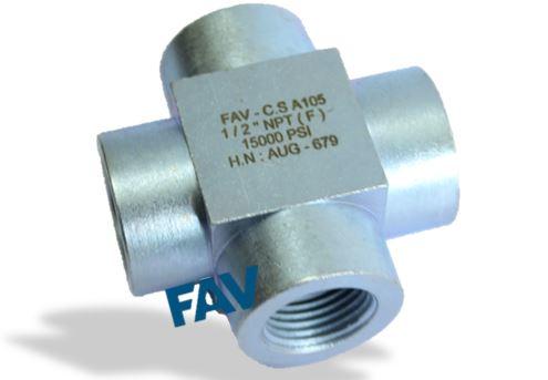 Steel A105 Cross 15000 psi