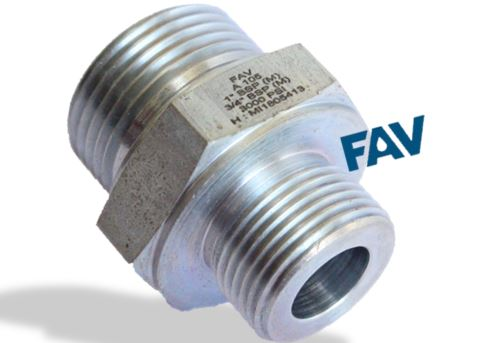 Carbon Steel A105 Hex Nipple 10000 psi ,BSP Male