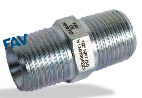 Carbon Steel Hex Nipple