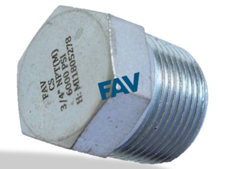 Carbon Steel Hex Plug