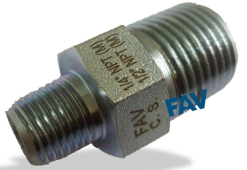 Carbon Steel A105 Hex Reducing Nipple 10000 psi