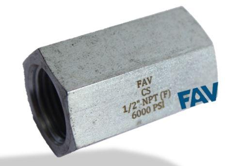 Steel Hex Coupling 6000 psi