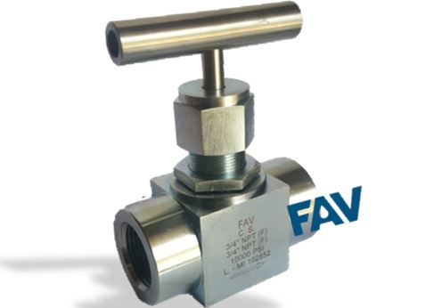 Carbon Steel High Pressure Needle Valves,10000 psi