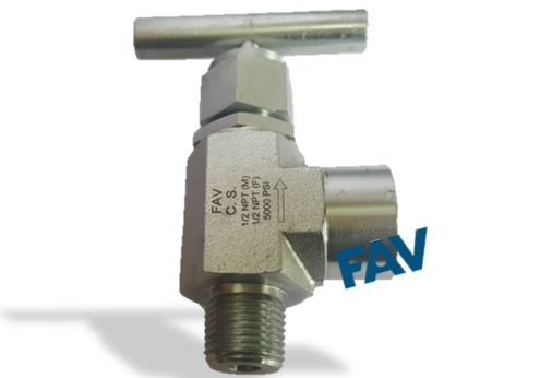 Forged Body Carbon Steel A105 Angle Needle Valve 10000 psi