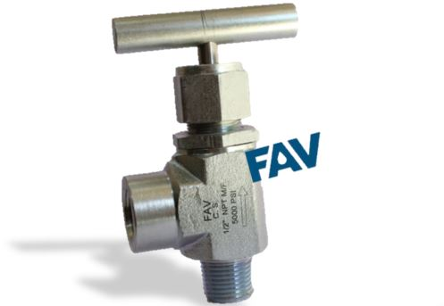 Forged Body Carbon Steel A105 Angle Needle Valve 6000 psi