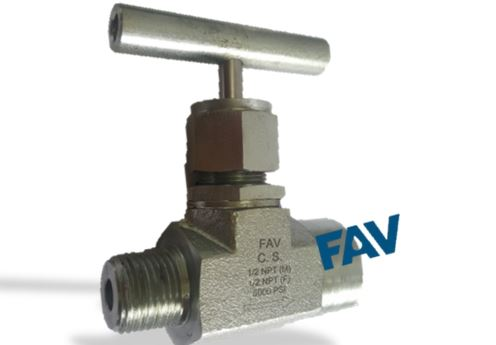 Forged Body Carbon Steel A105 Needle Valve 10000 psi