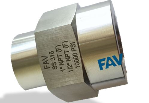 Hex Reducing Coupling