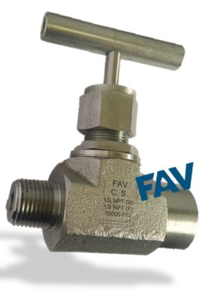 Needle Valve 10000 psi,Forged Type, Male X Female