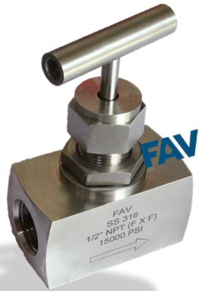 Needle Valve Female X Female 15000 psi