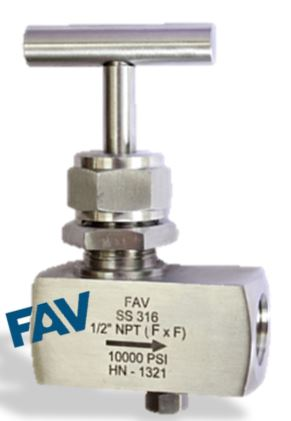 Needle Valve with plug female