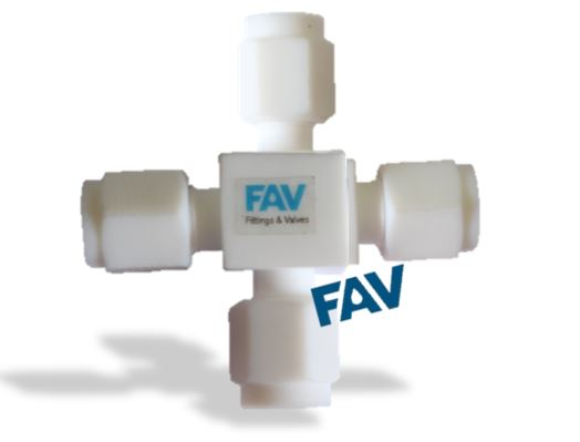 PTFE Cross Union