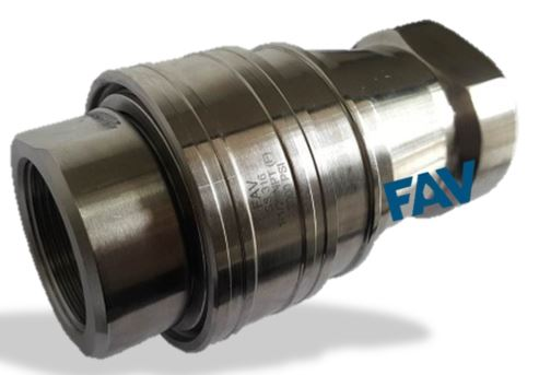 Quick Release Coupling Double Check Type 6000 psi