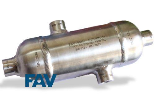 Condensate Pot SS 316