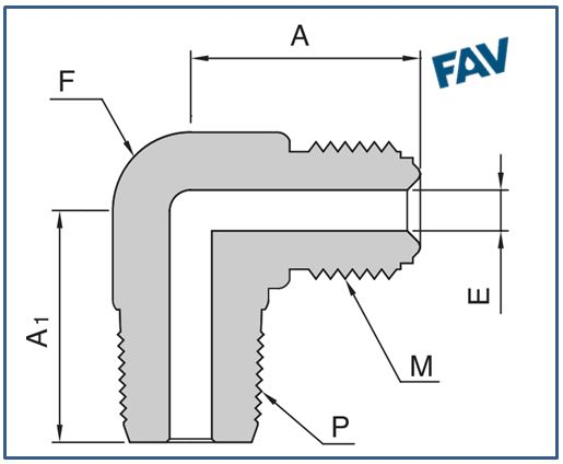 Male Elbow Tube Weld Fittings