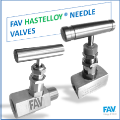 Hastelloy needle valves