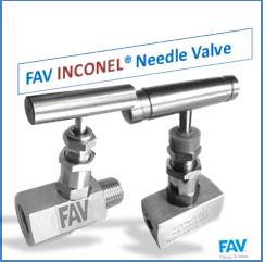 Inconel needle valves
