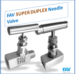 Super Duplex Needle Valve