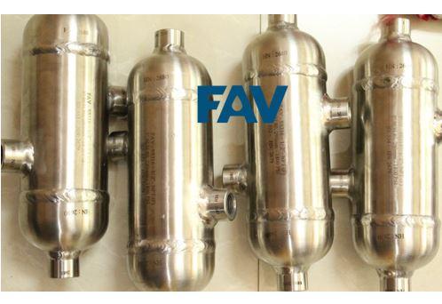 Condensate Pot for Steam Flow Measurements