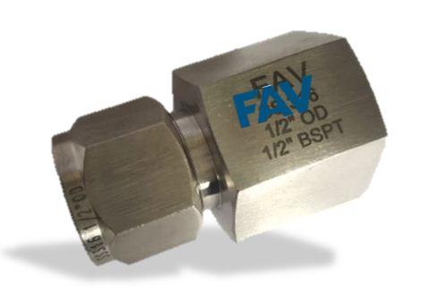 Titanium Female Connector