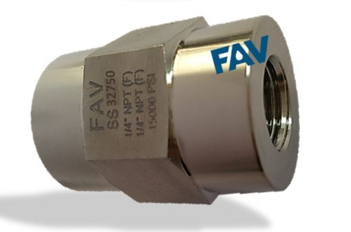 Duplex Hex Coupling