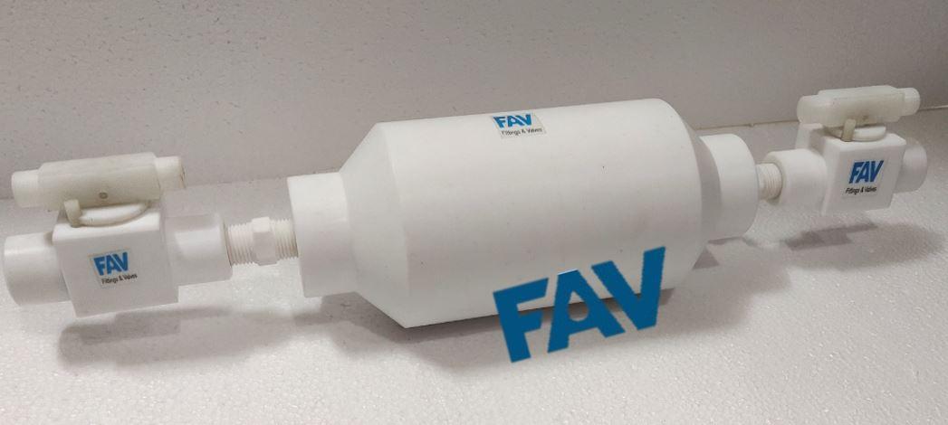 Teflon Sampling Cylinder.